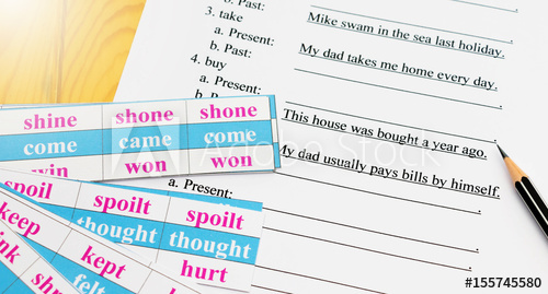 Irregular verbs Неправильные глаголы